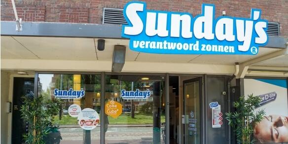 De entree van Sunday's Hoofddorpplein in Amsterdam