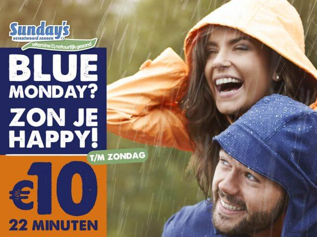 Beat Blue Monday bij Sunday's!