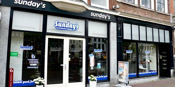 Interieur zonnestudio Sunday's Leiden