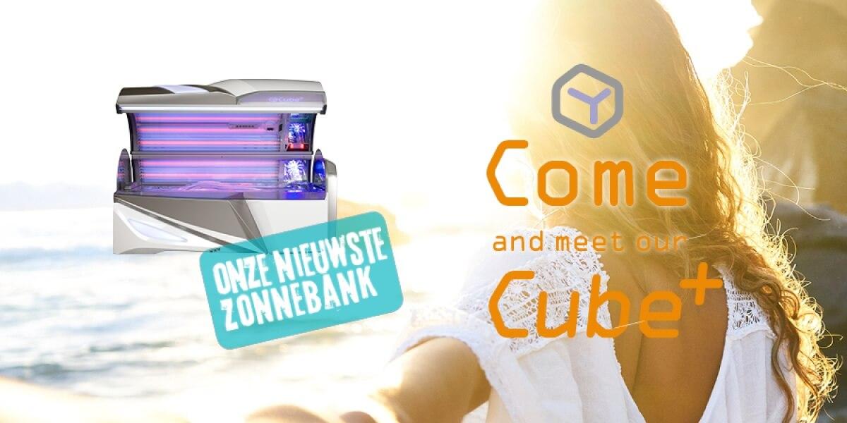 De Cube+, onze nieuwste zonnebank