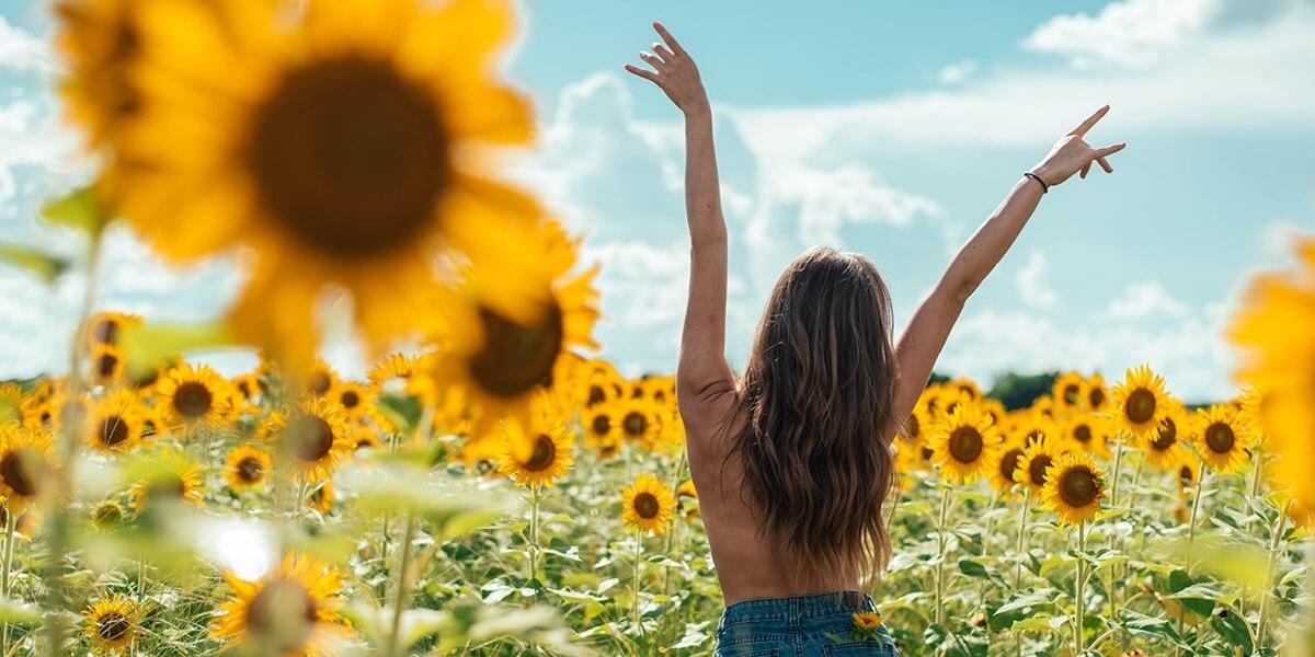 Vitamine D door de zonnebank