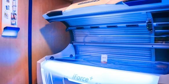De iForce+ is een van onze sterkste zonnebanken.