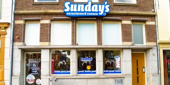 Zonnestudio Sunday's Delft aan de Oude Delft in Delft