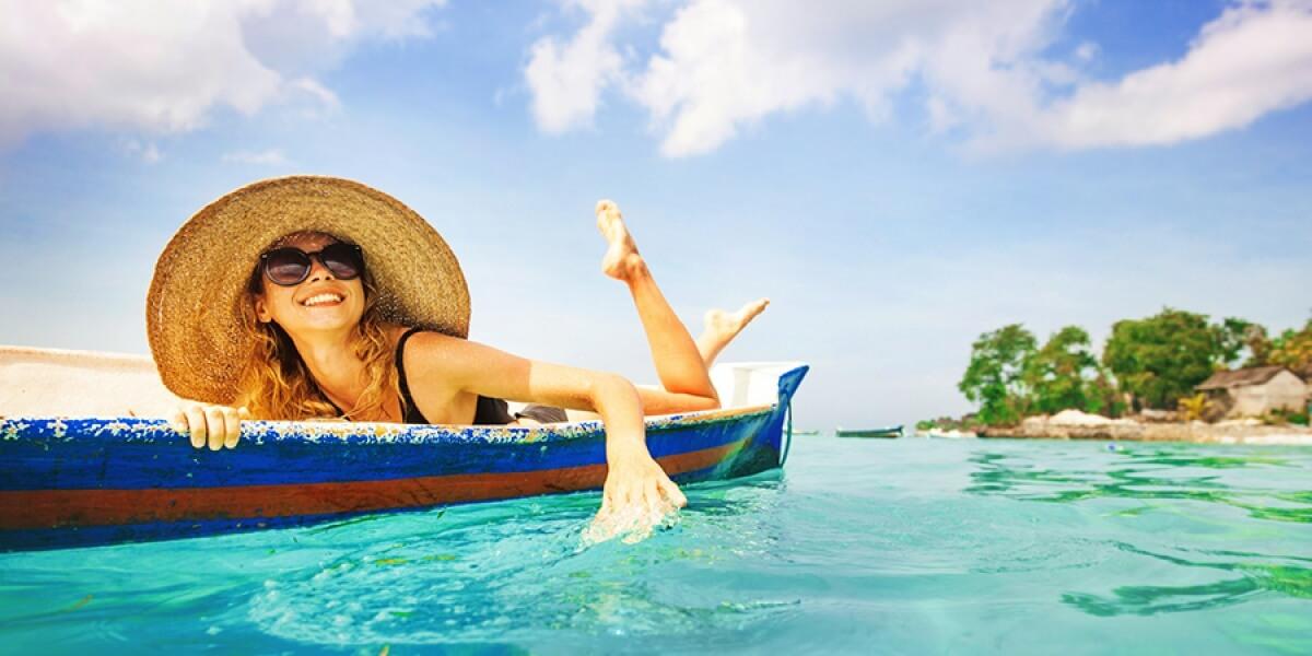 Veilig zonnen op vakantie